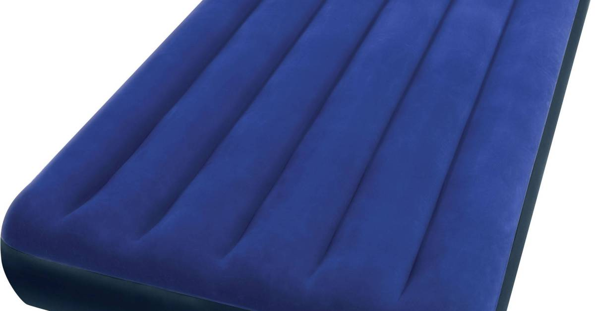 Intex twin 8.75″ Classic Downy inflatable airbed mattress for $8