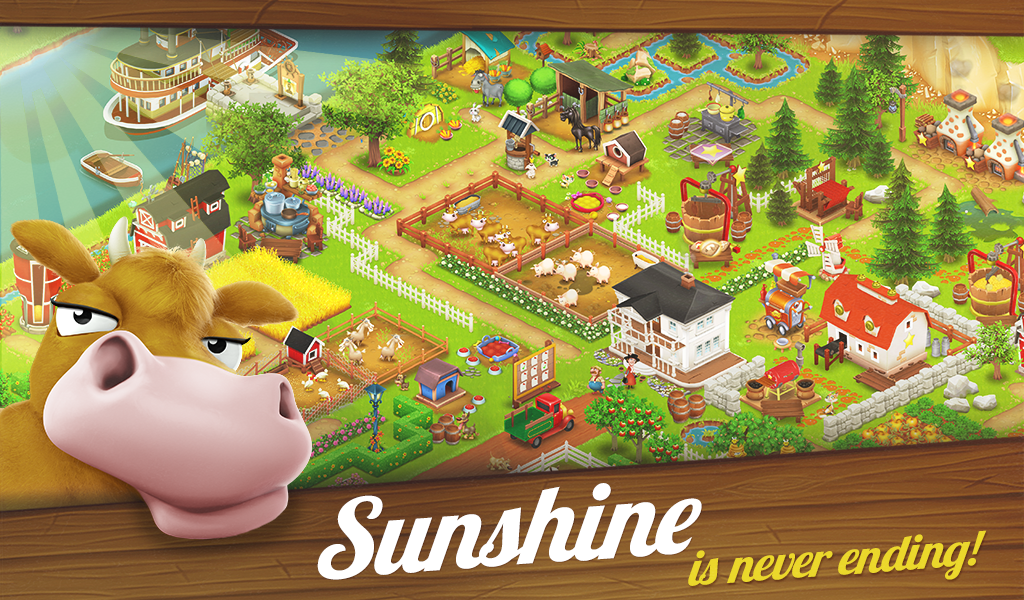 Free Hay Day app download includes $10 Amazon App store
