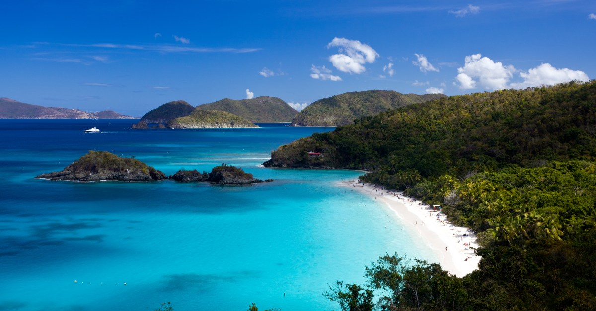 Flights to the US Virgin Islands in the $200s and $300s round-trip