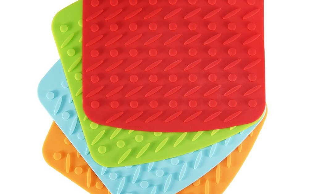X-Chef set of 4 silicone kitchen pot holders for $6.50