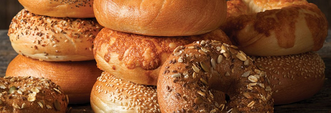 FREE bagel & shmear from Einstein Bros Bagels with signup