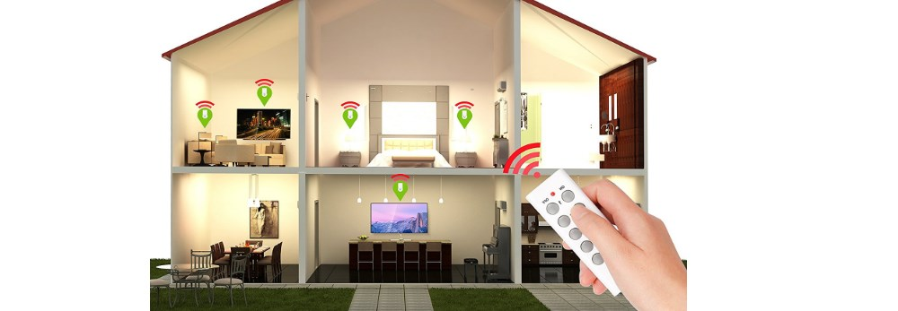 5-pack Etekcity remote-controlled wireless outlet light switches for $21.48
