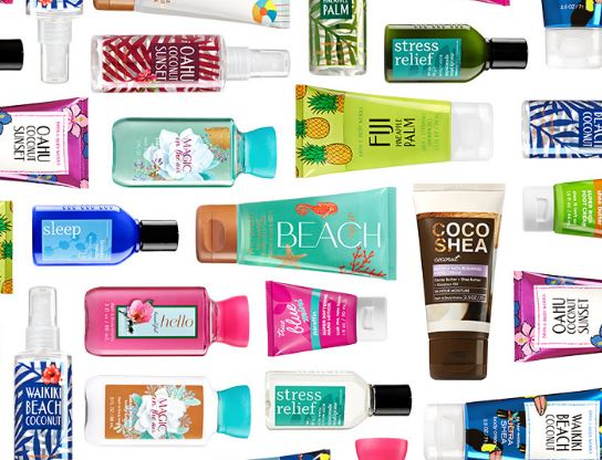 Bath & Body Works: Travel sized body care for $3 today only