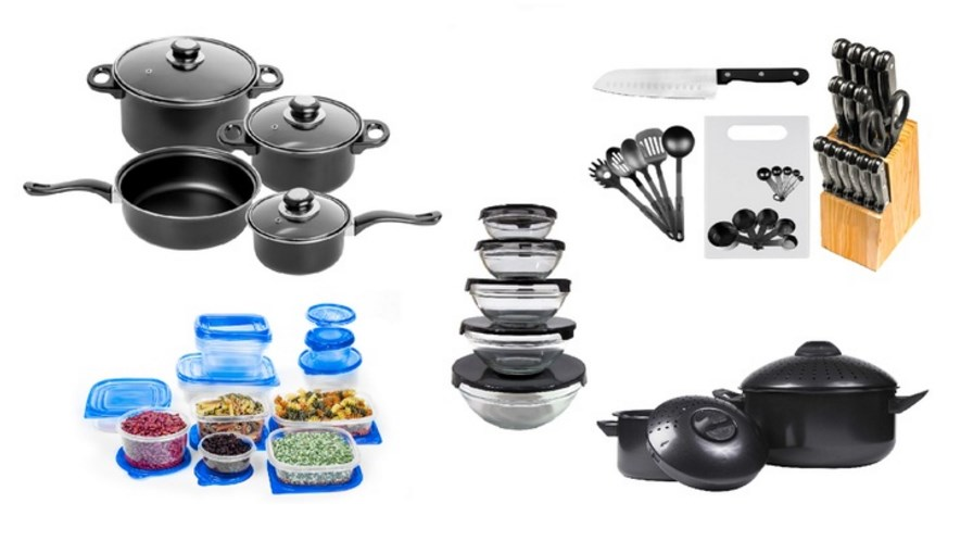 84-piece cookware kitchen set for $55 shipped