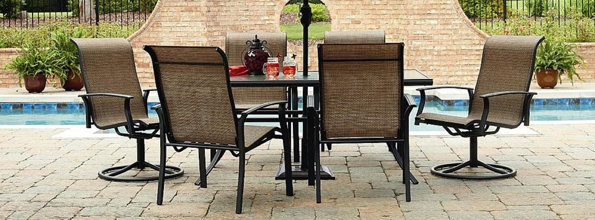 Garden Oasis Harrison 7-piece outdoor furniture set for $255 + $52 in points