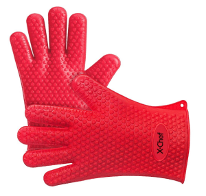 x-chef silicone gloves
