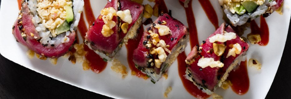 FREE Dragon roll with any entrée purchase at P.F. Chang's