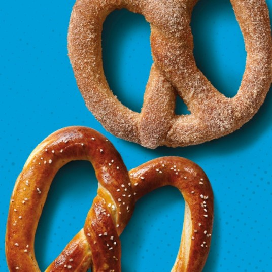 Auntie Anne's: Get a free pretzel after first purchase via app