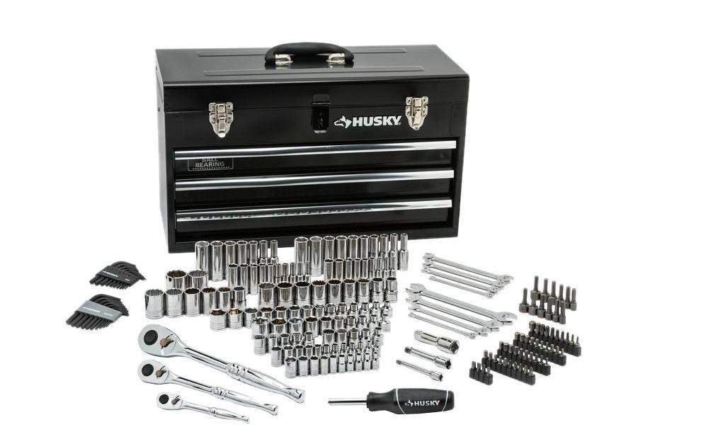 Price drop! Husky 200-piece mechanics tool set for $79