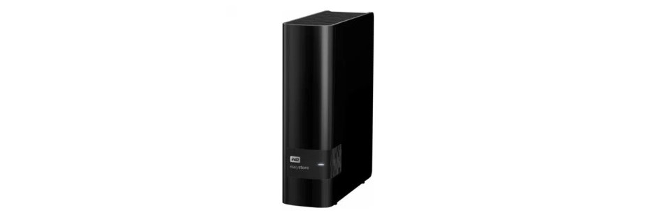 8TB WD easystore USB 3.0 external hard drive for $140