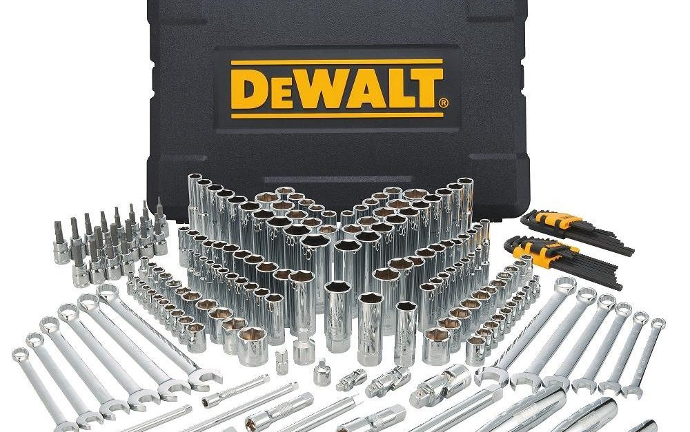 Today only: Save up to $55 off Dewalt mechanics tool sets