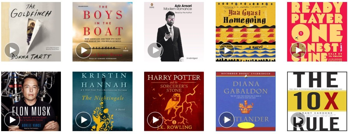 New customers: FREE 60-day Audible trial with 2 audiobooks & $15 Amazon credit