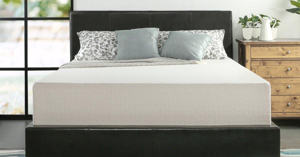 Zinus 12″ memory foam queen mattress for $189