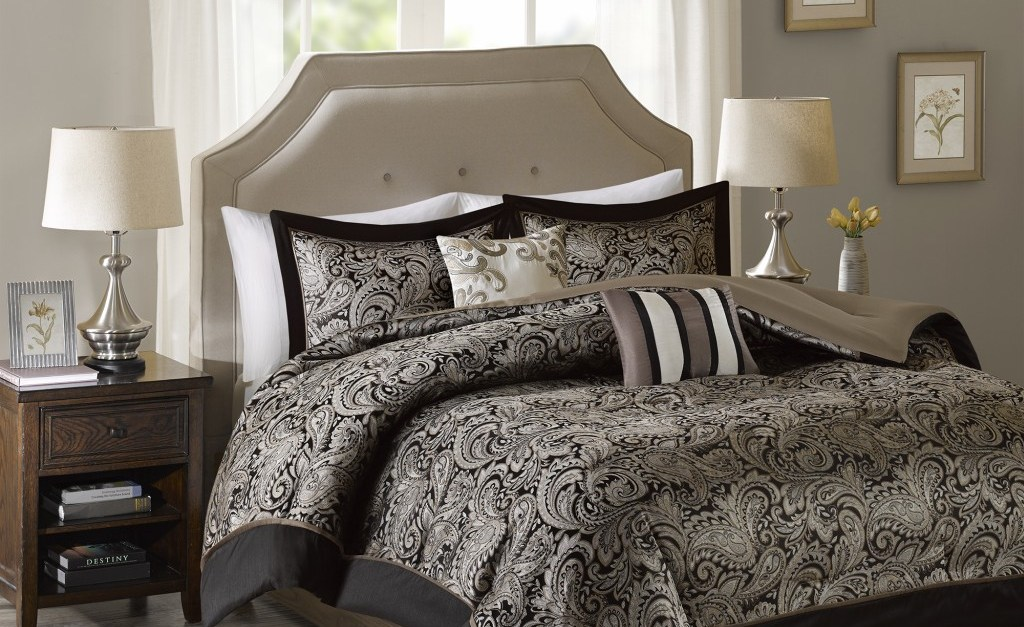 Comforter sets starting at $30 at Designer Living