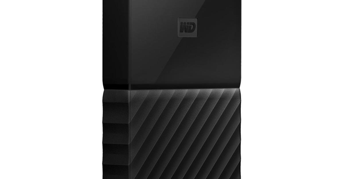 My Passport 1TB external USB 3.0 portable hard drive for $46