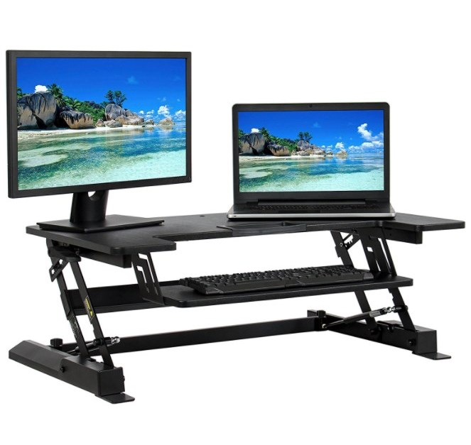 Best Choice Products adjustable standing desk riser for $108