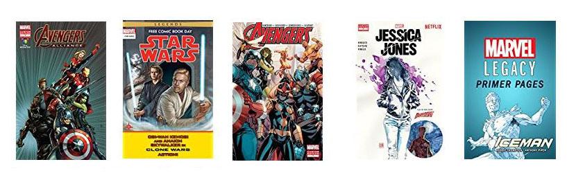 Free Kindle comic books at Amazon