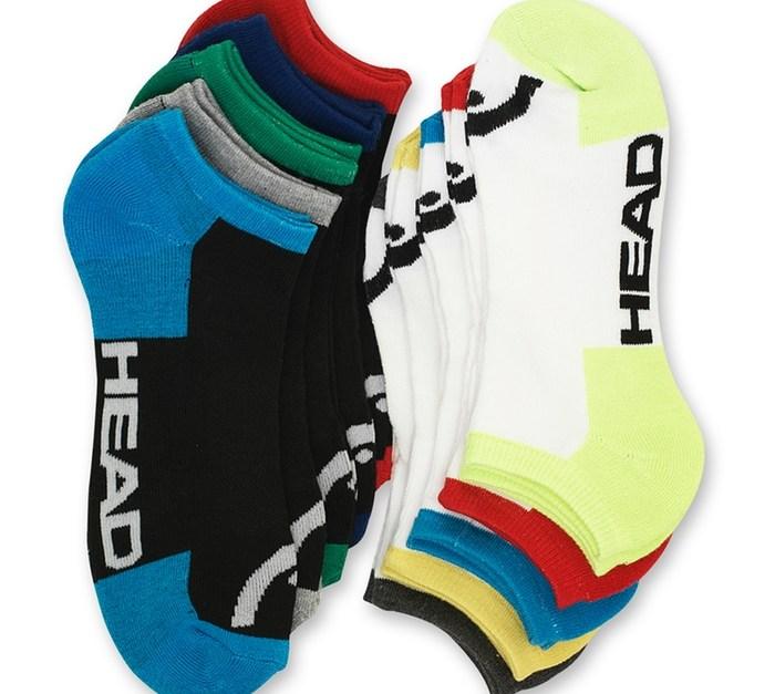 Head 10-pack of moisture-wicking men's socks for $11, free shipping