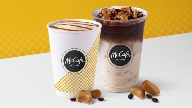Free medium McCafé drink with any $1 purchase