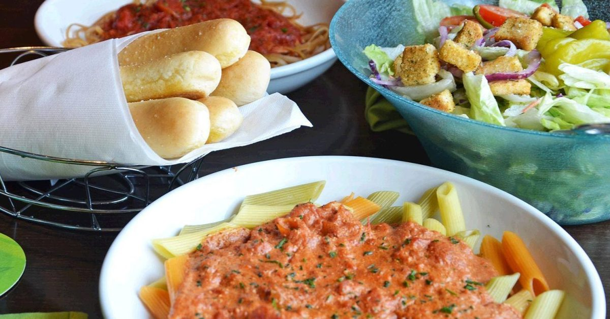 Olive garden s never ending pasta pass starts today - Does olive garden deliver to your house ...