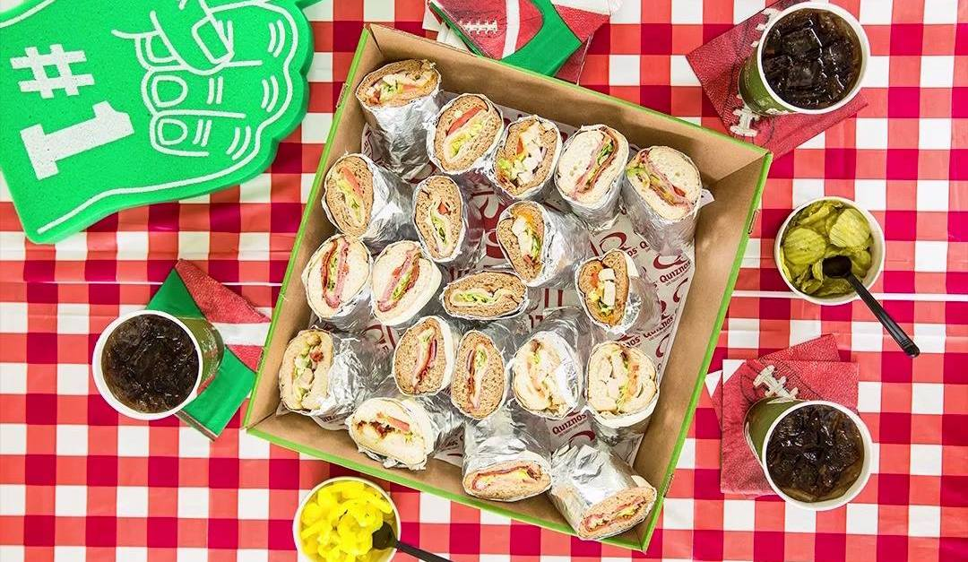 FREE Quiznos sub with any purchase via free loyalty app