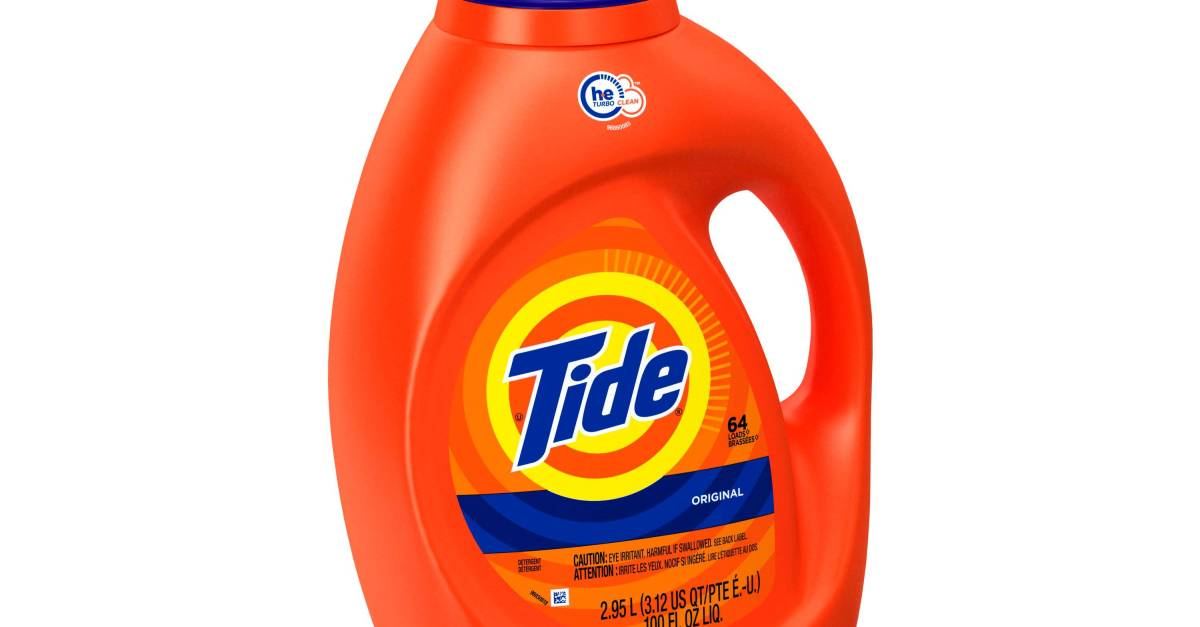 Tide 40-oz liquid laundry detergent for $3