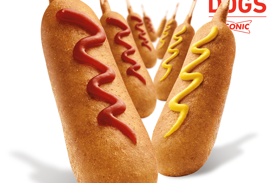 Sonic offers corn dogs for just 50 cents today!