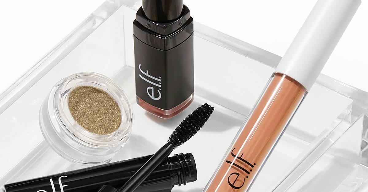 Today only: Free shipping with no minimum purchase at e.l.f cosmetics