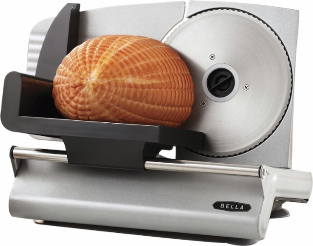 Bella electric food slicer for $30, free shipping