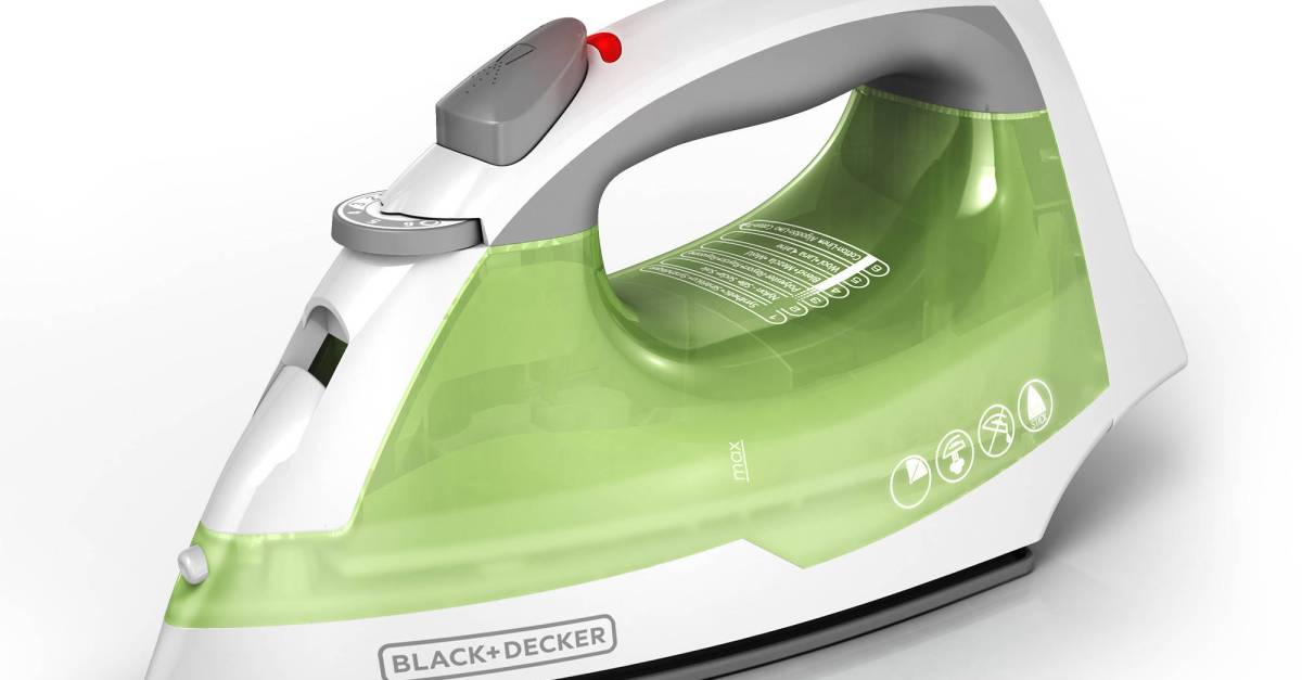 In-store: Black+Decker easy steam compact clothing iron for $10