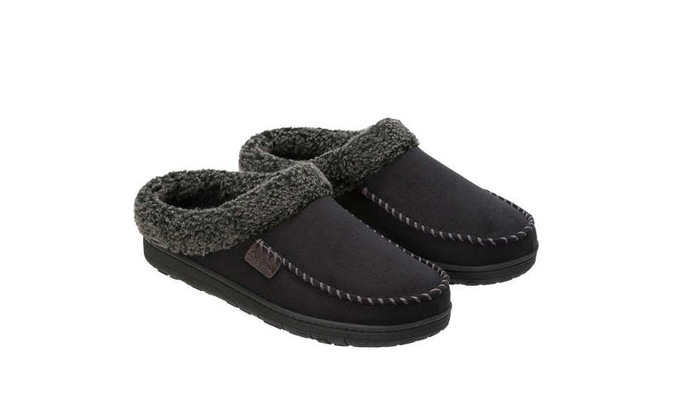0b55abbe2fb Dearfoams men s slippers for  10 at Costco