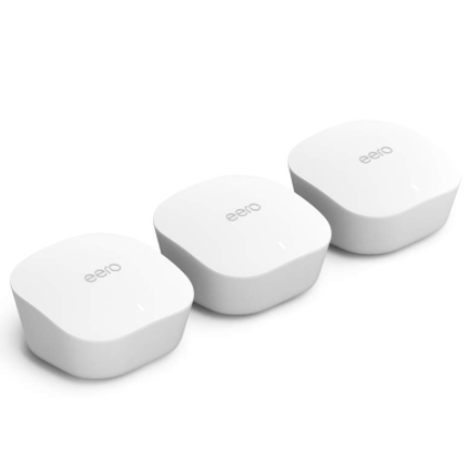 eero whole home Wi-Fi router 3-pack for $175