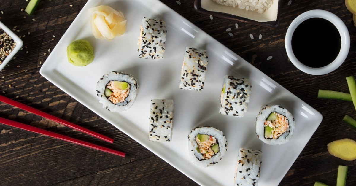 Get FREE sushi at P.F. Chang's on September 20!