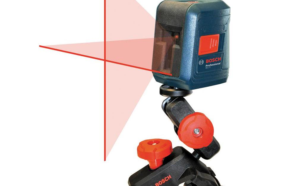 Bosch 30 ft. cross-line laser level for $40