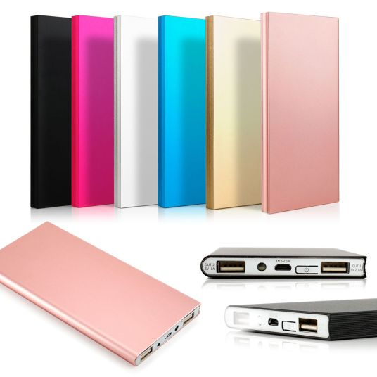 Ultra-thin 20000mAh portable power bank from $10, free shipping