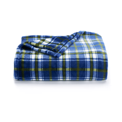The Big One Supersoft plush throw for $9