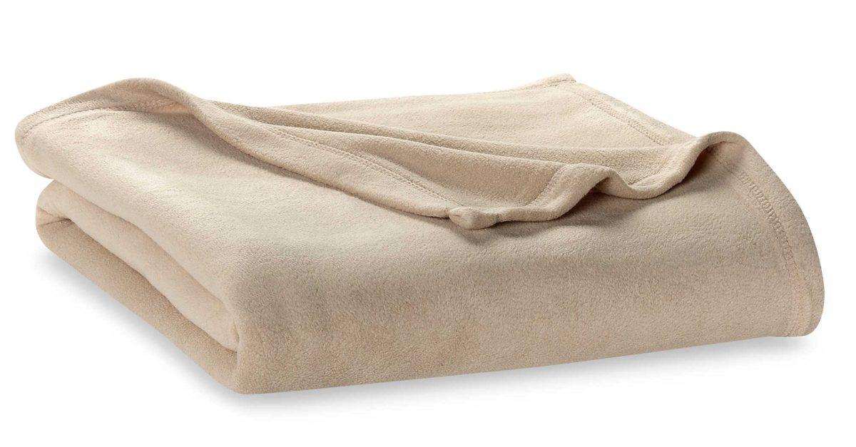 Berkshire Blanket® original fleece queen size blanket for $15