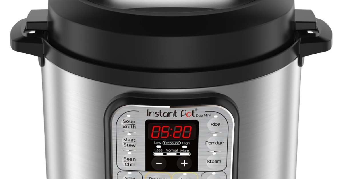 Today only: Instant Pot Duo Mini 3-quart 7-in-1 pressure cooker for $48