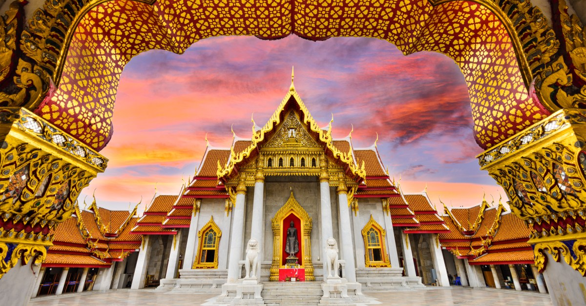 Flights to Bangkok in the $500s & $600s round-trip