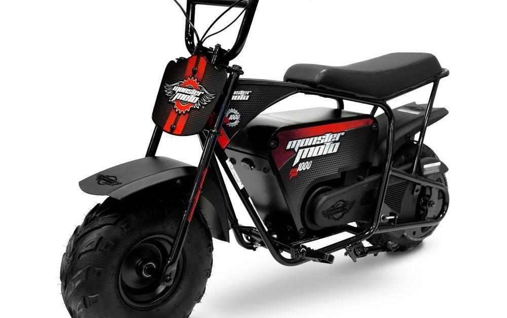 Monster Moto 1000-watt electric mini bike for $200