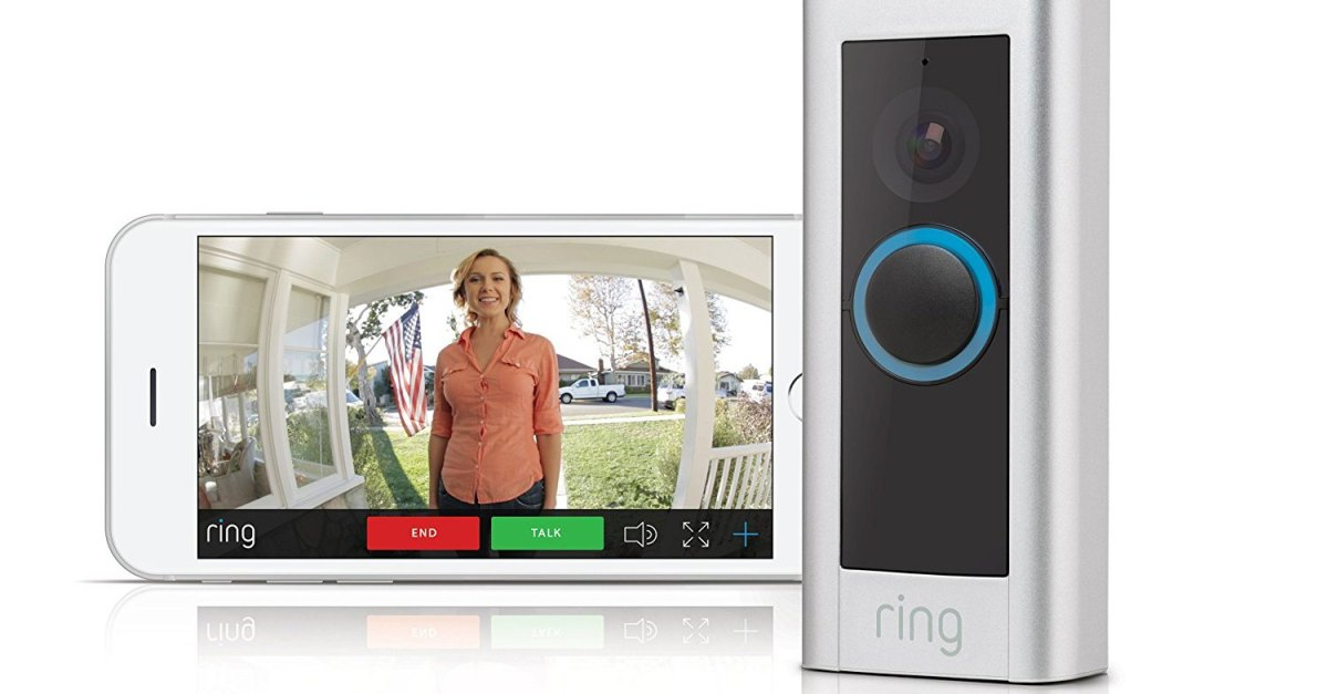 Today only for Prime members: Ring Video Doorbell Pro for $130, free shipping