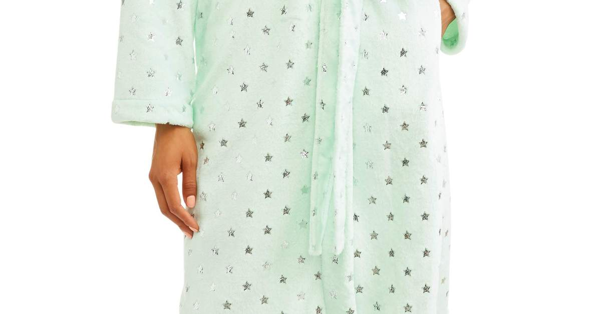 Women's fleece robe for $10, free store pickup