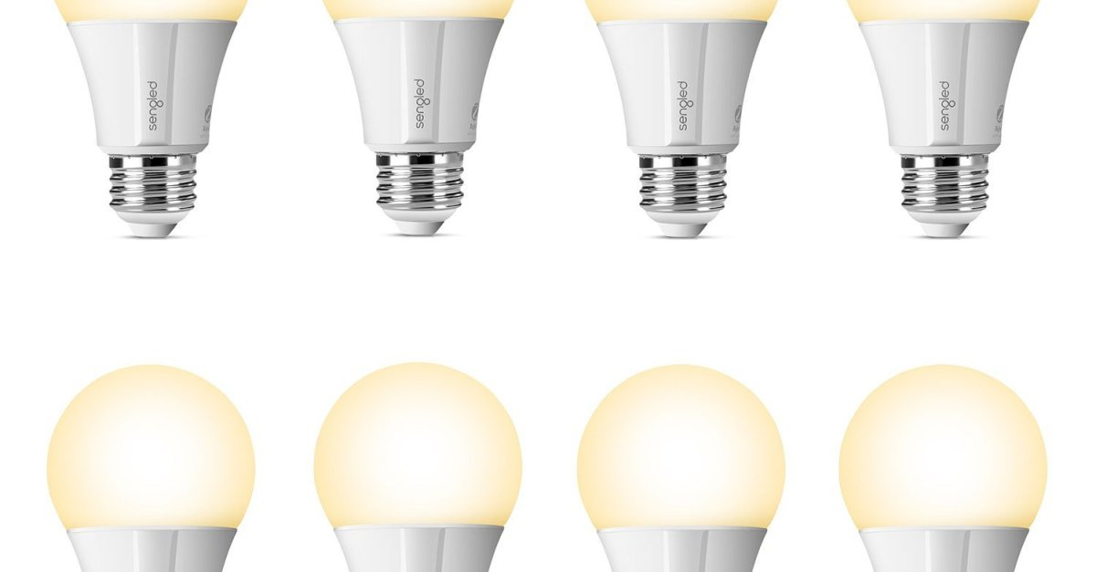 Sengled Element Classic 8-pack 60W smart LED bulbs for $65