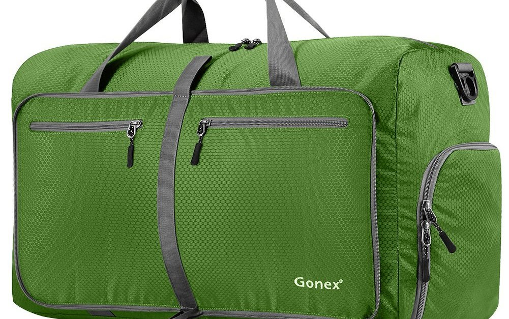 Gonex 80L packable travel duffle bag for $16.27 with code