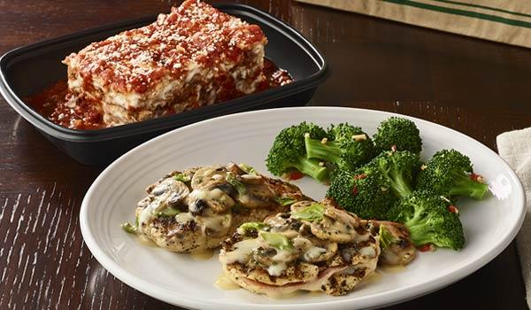 Enjoy FREE take-home lasagna at Carrabba's