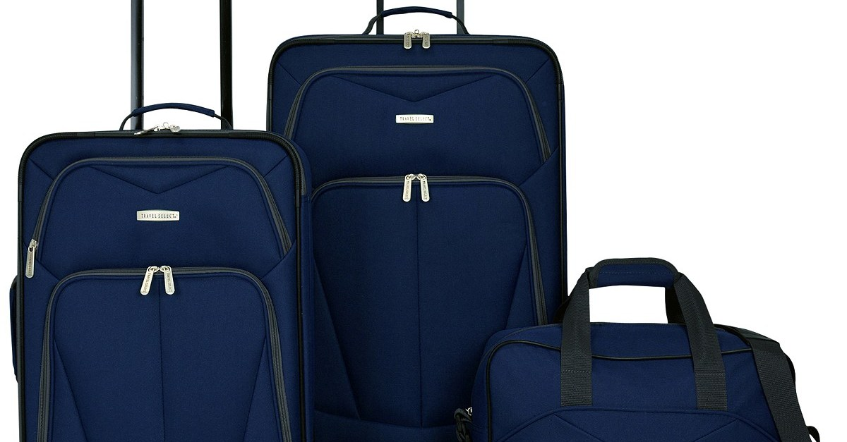 Travel Select Kingsway 4-piece luggage set for $50