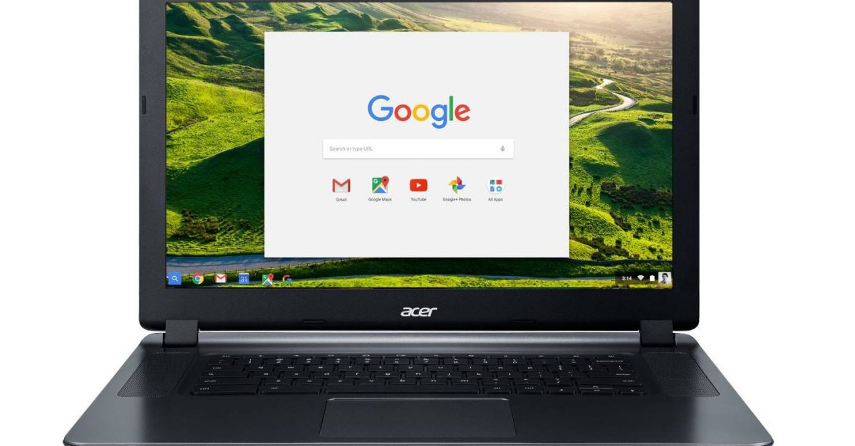 Expires soon! 15.6″ 2GB 16GB storage Acer Chromebook for $180