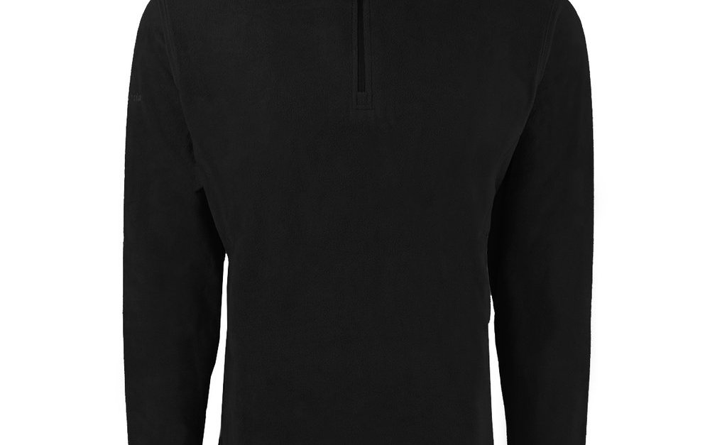Columbia men's Crescent Valley 1/2 zip microfleece pullover for $17, free shipping