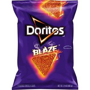Doritos Blaze Flavored Tortilla chips