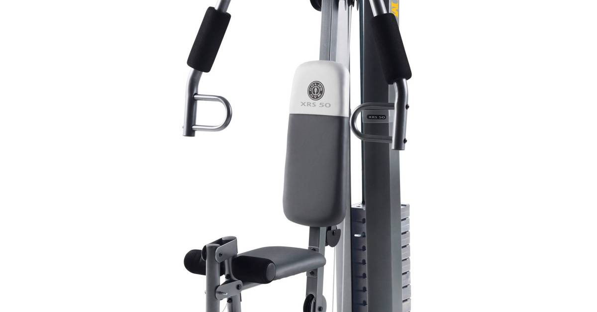 Gold's Gym XRS 50 home gym for $197, free store pickup